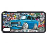 Koolart Stickerbomb & Licensed Mk1 Escort RS Mexico Car Image Mobile Phone Case Cover Fits iPhone